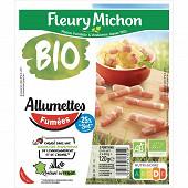 Fleury Michon Allumettes fumées bio -25% de sel 120g