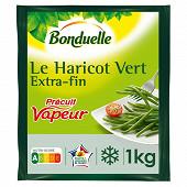 Bonduelle haricots verts extra fins précuit vapeur 1kg