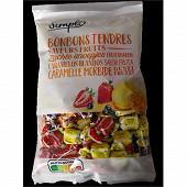 Bonbons tendres aux arômes fruits 500g