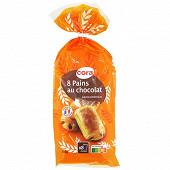 Cora 8 pains au chocolat 360g