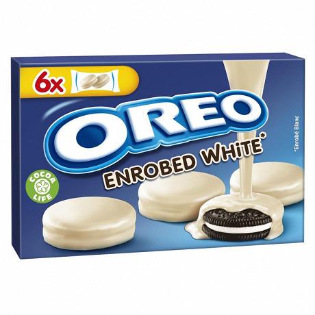 Oreo enrobés de chocolat blanc 246G