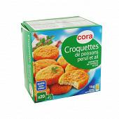 Cora 20 croquettes de poissons persil et ail 1kg