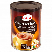 Cora cappuccino parfum chocolat 306g