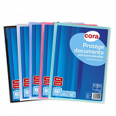 Cora protège documents personnalisable 60 vues polypro trans-opaque