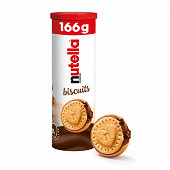 Nutella biscuits tube de 12 166g