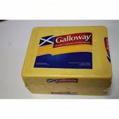 Cheddar galloway lait de vache pesteurisé 35%mg/pt