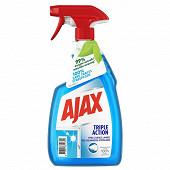 Ajax nettoyant vitres pistolet triple action 750ml