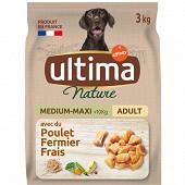 Ultima nature chien medium maxi poulet 3kg