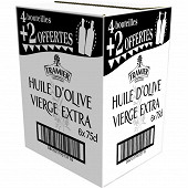 Tramier carton huile d'olive vierge extra 75cl (4 +2 oft)