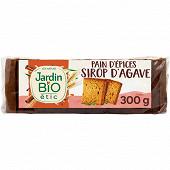 Jardin Bio pain d'épice au sirop d'agave 300g