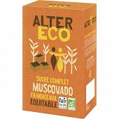 Alter Eco sucre muscovado morceaux 400g
