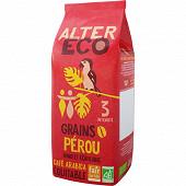 Alter Eco café grain Pérou 500g