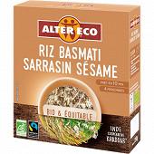 Alter Eco riz basmati sarrasin sésame 250g