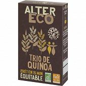 Alter Eco trio de quinoa bio 350g