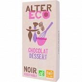 Alter Eco chocolat dessert 200g