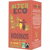 Alter Eco thé rooibos bio 40g