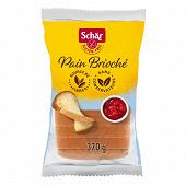 Schar  pain brioche sans gluten 370g