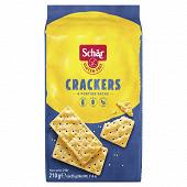 Schar crackers nature sans gluten 210g