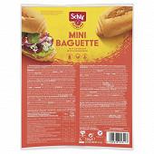 Schär mini baguette sans gluten 2 x75g