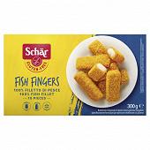 Schar 10 bâtonnets de poissons panés sans gluten 300g
