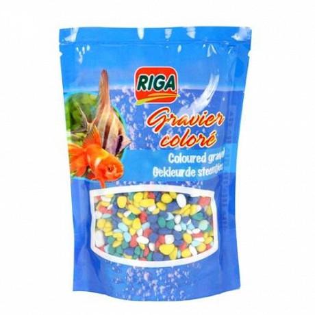 Riga - Gravier multicolore doypack 450gr