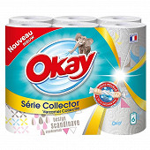 Okay essuie-tout serie collector x6