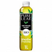 Pure Leaf menthe bio pet 1l