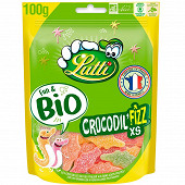 Lutti crocodil'fizz xs bio sachet 100g