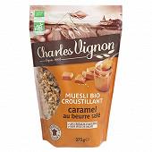 Charles vignon muesli bio caramel beurre salé 375g