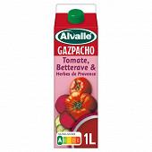 Alvalle gazpacho tomate betterave & herbes de provence 1l