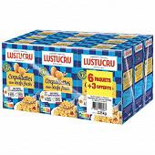 Lustucru pâtes aux oeufs coquillettes 250g lot de 6 + 3 paquets offerts