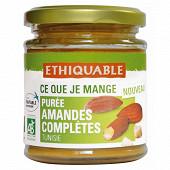Ethiquable purée amandes complètes de Tunisie bio 17g