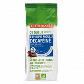 Ethiquable café décaféiné Ethiopie bio 250g