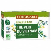 Ethiquable thé vert de Ceylan 36g
