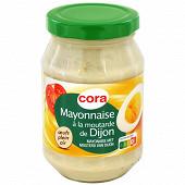 Cora mayonnaise à la moutarde de Dijon bocal 235g
