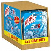 Harpic bloc active fresh explosion marine 4+3 offerts