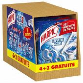 Harpic bloc active fresh eau bleue 4+3 offerts