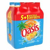 Oasis tropical pet 6x2l (5+1 offert)