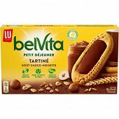 Lu belvita tartine biscuit chocolat noisette  250g
