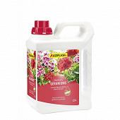 Algoflash engrais géraniums fleurs balcon 2,5 L