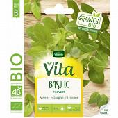 Vita vilmorin basilic fin vert bio