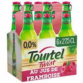 Tourtel twist jus de Framboise 6x27.5cl 0%vol