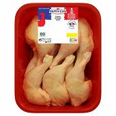 Maître coq cuisse de poulet jaune avec partie dos 3 kg