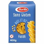 Barilla pates fusilli sans gluten 400 g