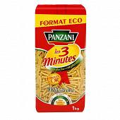 Panzani macaroni cuisson rapide 3 min 1kg