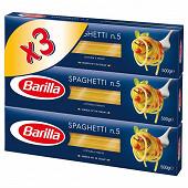 Barilla pâtes spaghetti 500g x3 1,5kg