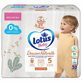 Lotus baby douce natur 30 culot T5