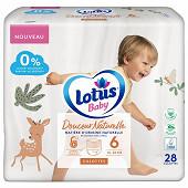 Lotus baby douce natur 38 culot T6