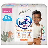 Lotus baby douce natur 32 culot t4