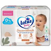 Lotus baby douce natur 34 culot t3